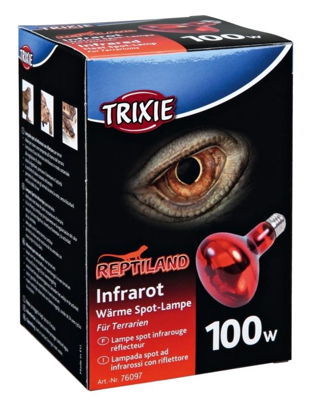 Trixie Infrarot Wärme-Spot-Lampe 100 W