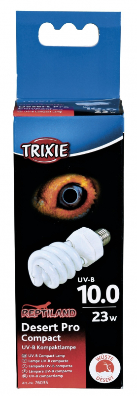 Trixie Compact Lamp Desert Pro Compact 10.0  4011905760353 anmeldelser