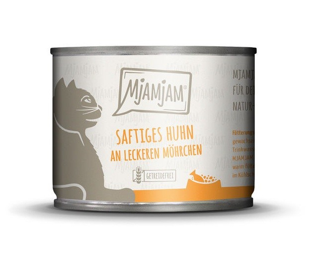 MjAMjAM Juicy Chicken with delicious Carrots 200 g 4260512870645 anmeldelser