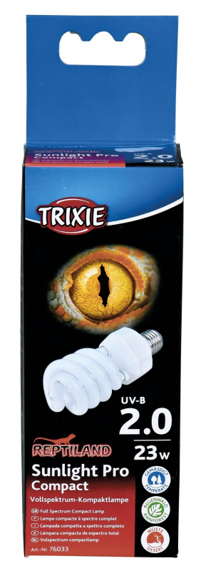 Trixie Sunlight Pro Compact 2.0 Compact Lamp EAN: 4011905760339 reviews
