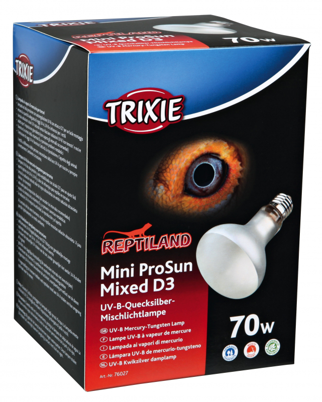 Trixie ProSun Mixed D3 Tungsten Lamp  70 W  order cheap