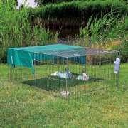 Natura Sun Protection For Galvanised Enclosures 116×72  cm
