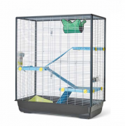 Savic Cage Zeno 3 Knock Down Empire pour Rongeur 100x50x118 cm