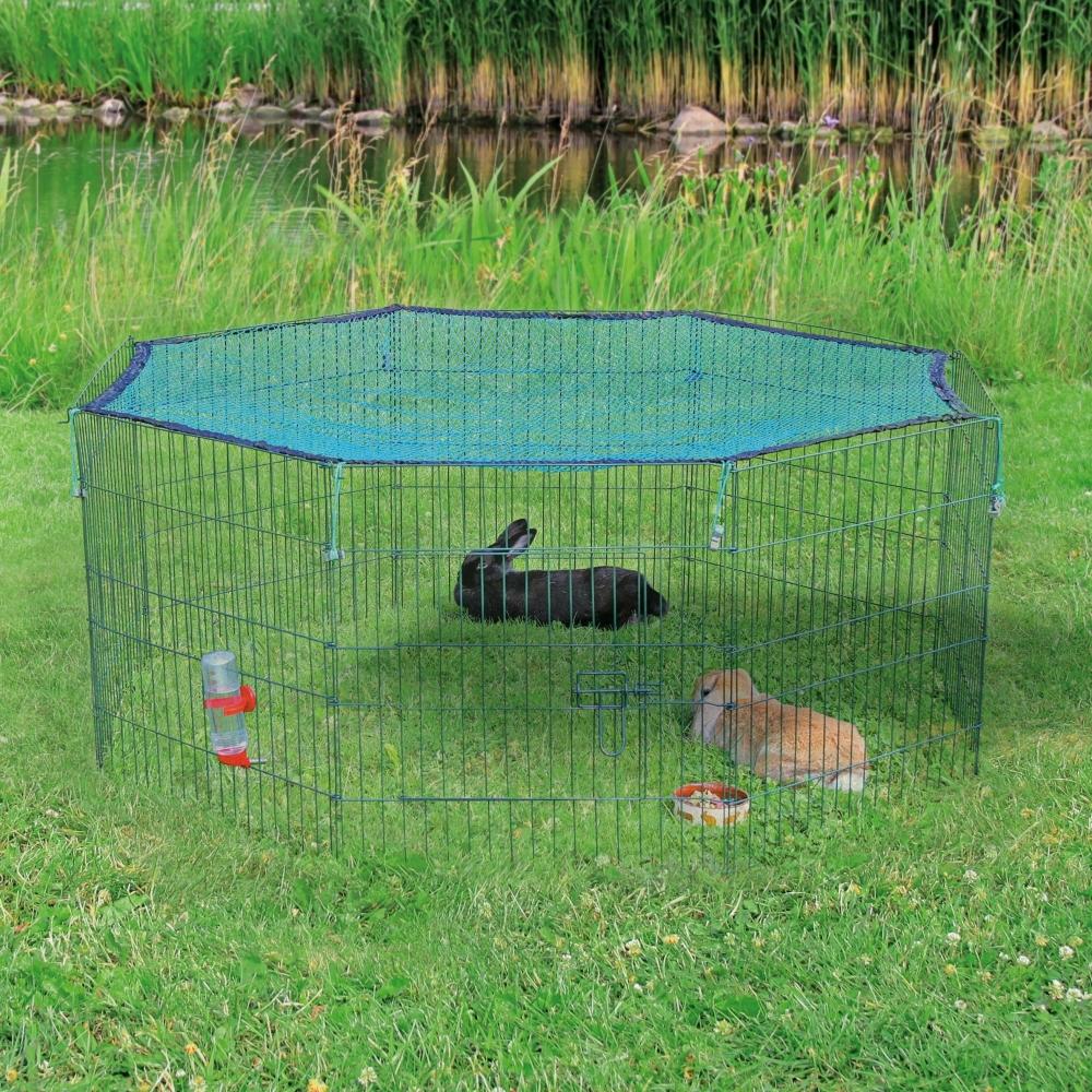 Outdoor Run with Protective Net 8 Elements  150×57  cm  fra Trixie kjøp billig med rabatt