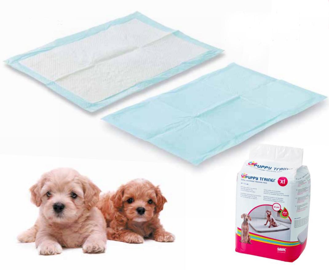 Puppy Trainer Pads 15 pieces XL  af Savic køb rimeligt og favoribelt med rabat