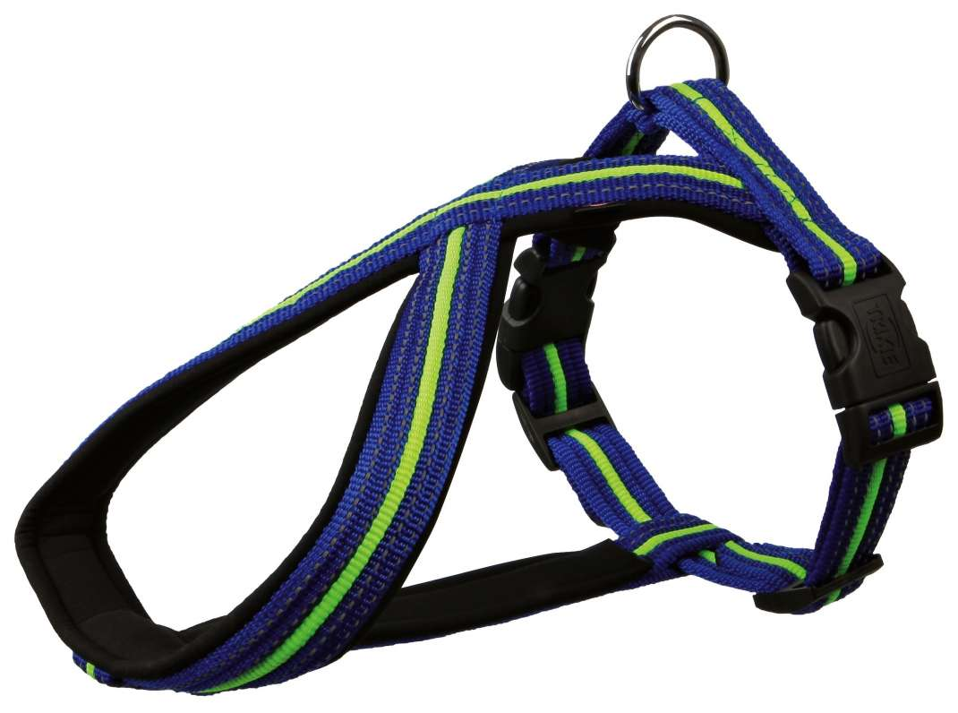 Fusion Touring Harness L-XL Blue from Trixie