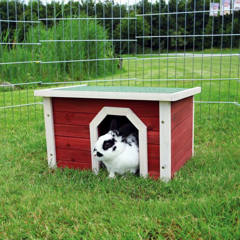 Trixie Small Animal Home  Rød 50x30x37 cm