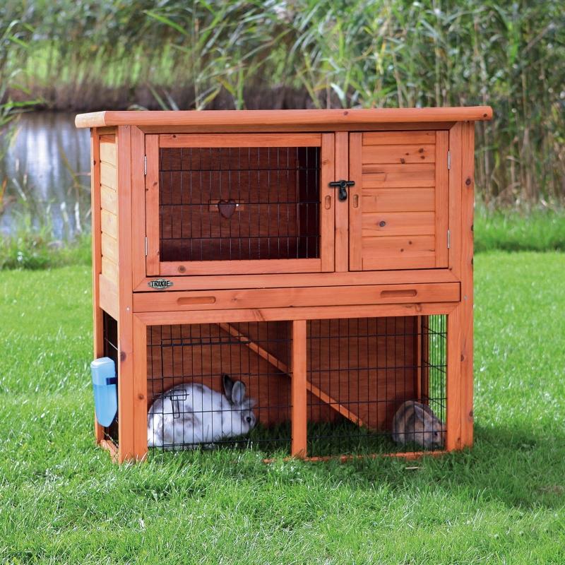 Trixie Kleintierstall mit Freilaufgehege 104×97×52  cm 4011905623016 Erfahrungsberichte