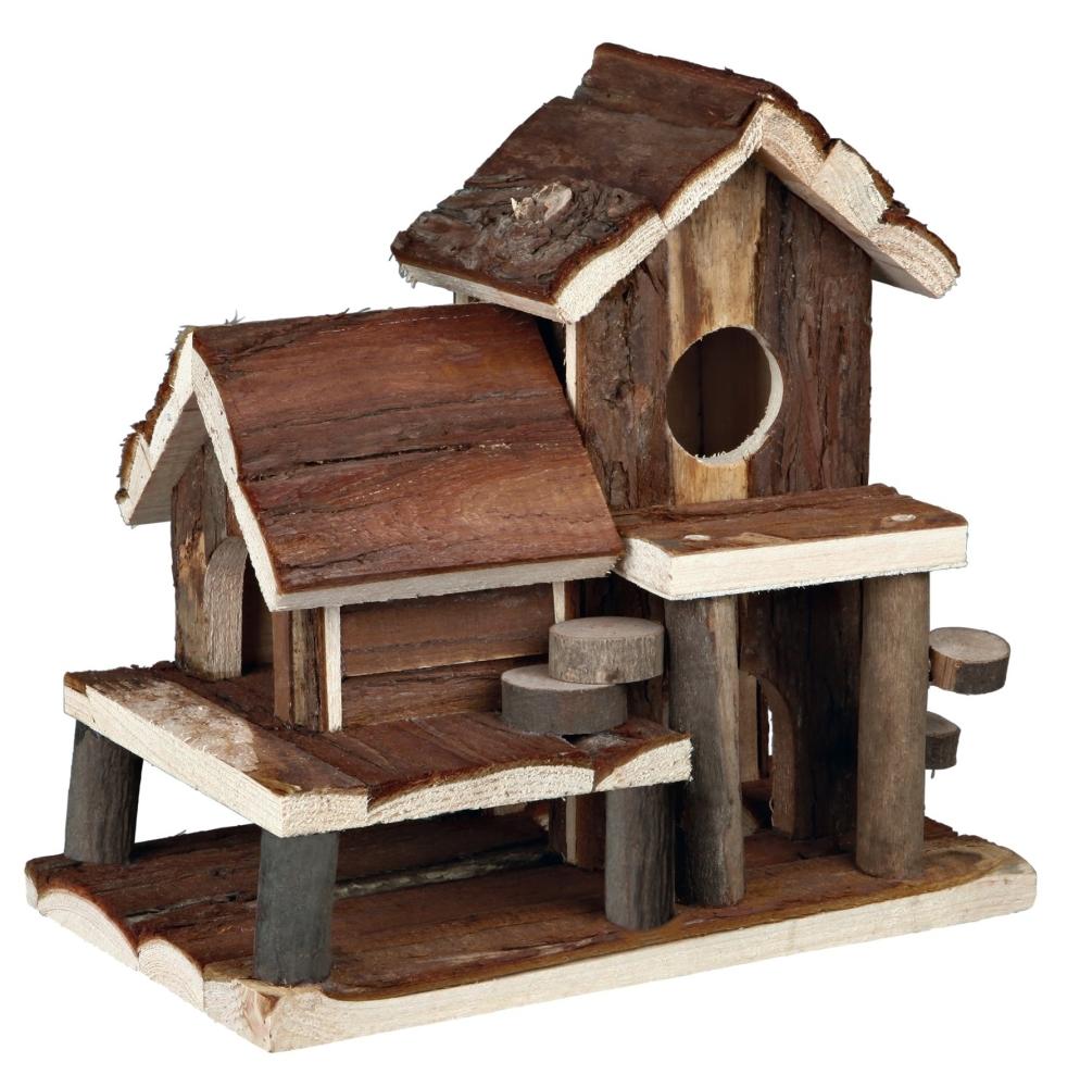 Trixie Natural Living Huisje Birte 25×24×16 cm  met korting aantrekkelijk en goedkoop kopen