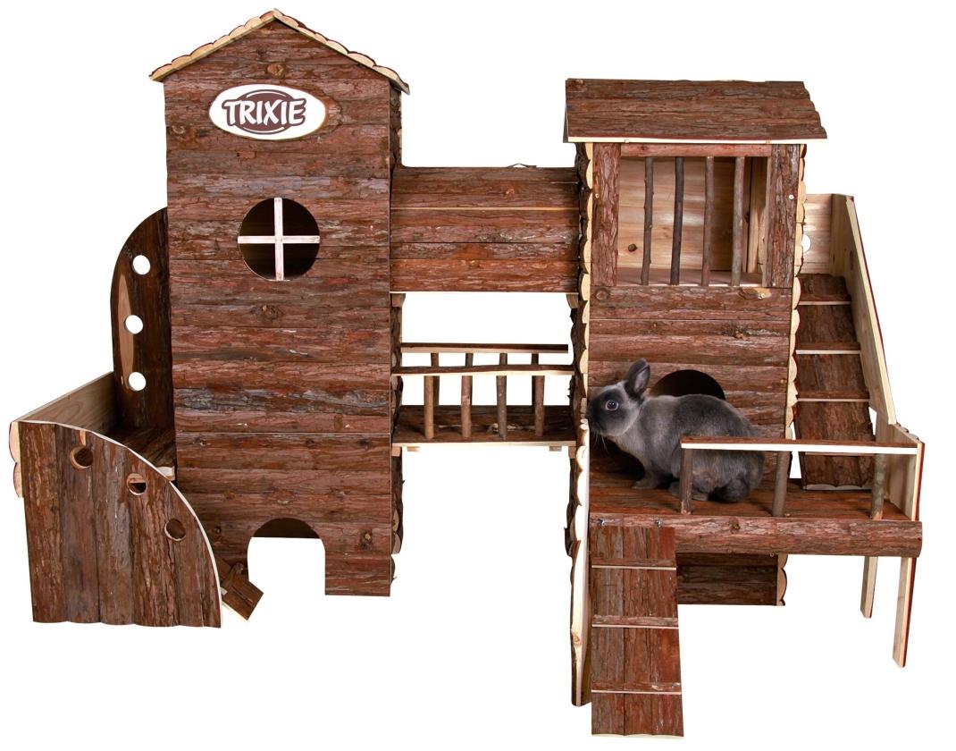 Trixie Natural Living Avonturen-Landschap Bosse 156×108×99  cm  met korting aantrekkelijk en goedkoop kopen