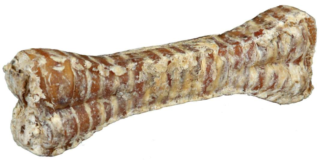 Pressed rawhide bones Chewing Bones of dried Beef Trachea 15cm, 10cm by Trixie Buy fair and favorable with a discount