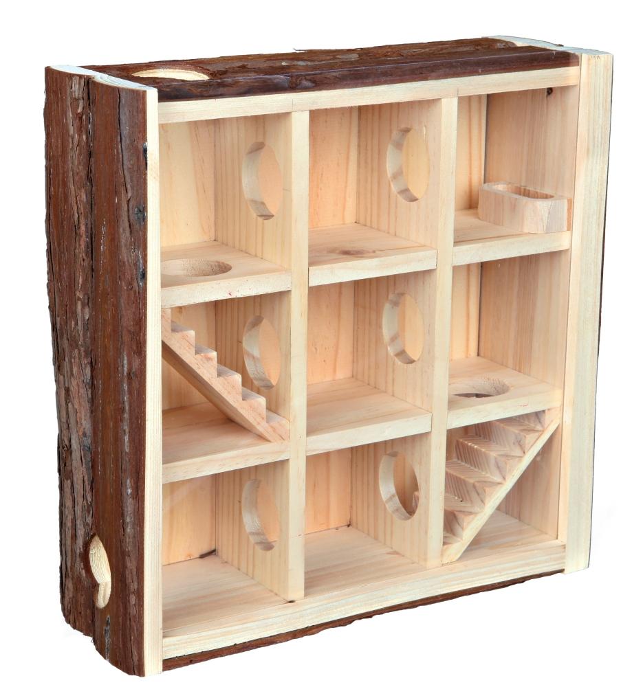 Trixie Natural Living Speeltoren 30×30×10 cm  met korting aantrekkelijk en goedkoop kopen