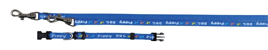 Trixie Collar con Ramal para Cachorros 16-23/200 cm