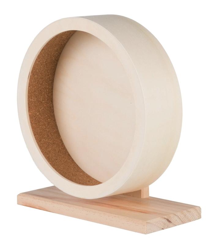 Hamsterhjul Trä 21 cm  från Trixie köp billiga på nätet