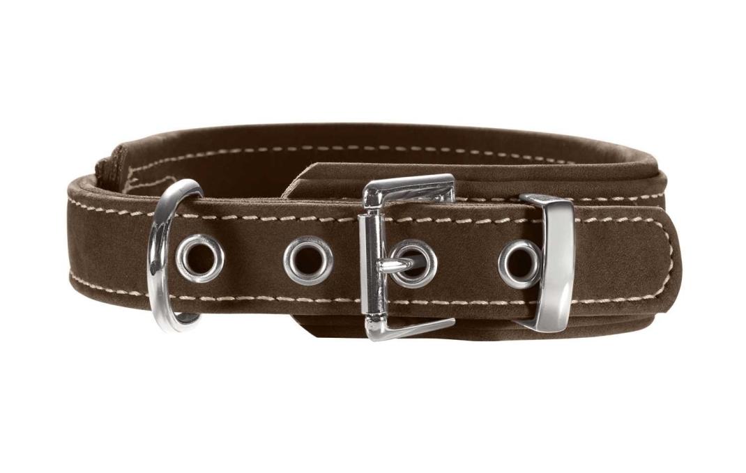 Hunter Halsband Hunting Comfort Nubuck Bruin 33-40 cm  met korting aantrekkelijk en goedkoop kopen