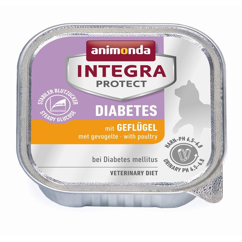 Animonda Integra Protect Diabetes Adult con Aves de Corral 100 g, 200 g prueba