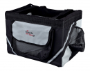 Dog bicycle baskets and trailers Trixie Friend on Tour Front-Box, black/grey 38x25x25cm