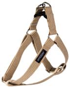 amiplay Adjustable Cotton Harness Beige