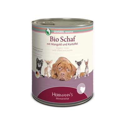 Herrmann's  Gevoelige bio- Schaap met Snijbiet & Aardappelen 800 g 4047459007040