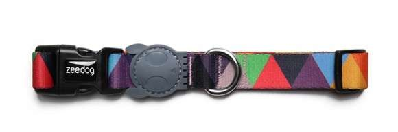 Zee.Dog Collar Stardust Pink A Boo