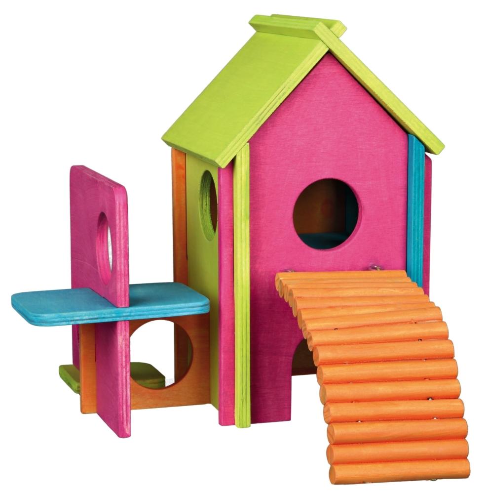 Trixie Houten Huis  22×22×25 cm  met korting aantrekkelijk en goedkoop kopen