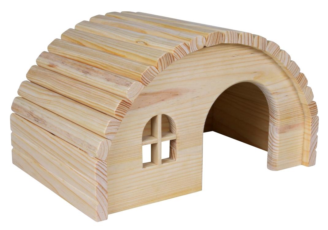 Trixie Houten Huisje  29×17×20 cm Beige