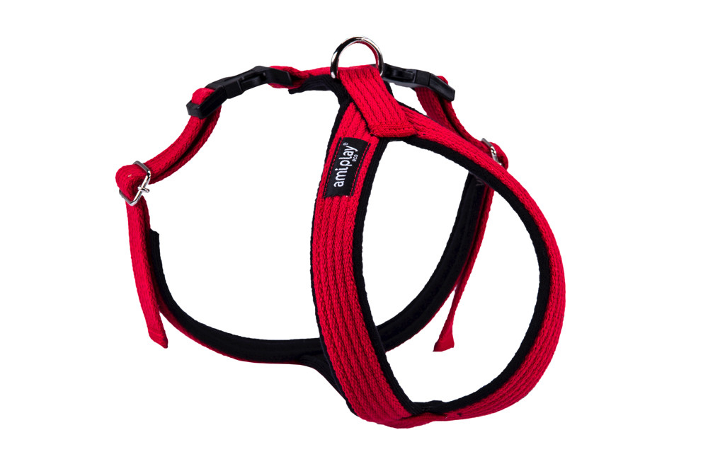 Amiplay Adjustable Cotton Harness Grand Soft, Red 5907563231214 erfarenheter
