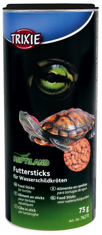 Trixie Reptiland Food Sticks for Water-Turtles  75 g