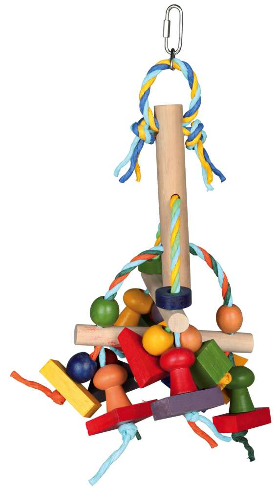Colourful Toy with Paper Ribbons 31 cm  from Trixie