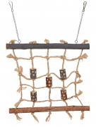 Trixie Natural Living Rope Climbing Wall 27x24 cm