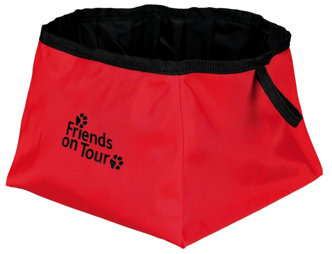Trixie Waterbak voor Onderweg, polyester, rood 1.8 l  met korting aantrekkelijk en goedkoop kopen