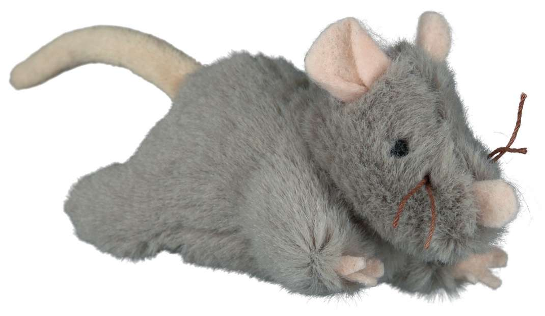 Rato com Sound, Pelúcia 15 cm  da Trixie Compre a bom preço com desconto