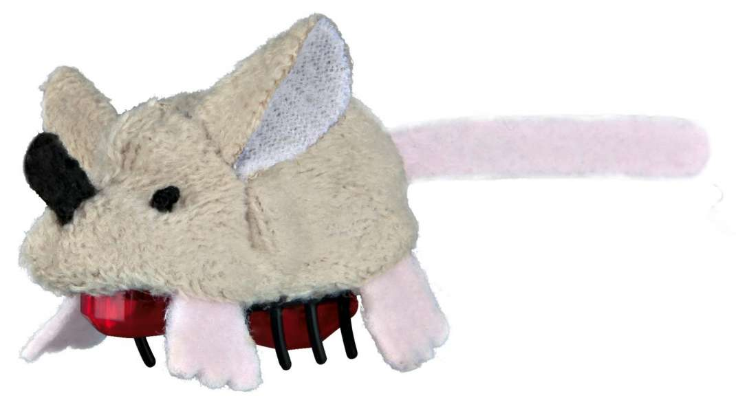 Stuffed toys Running Mouse, Plush 5.5cm by Trixie Buy fair and favorable with a discount