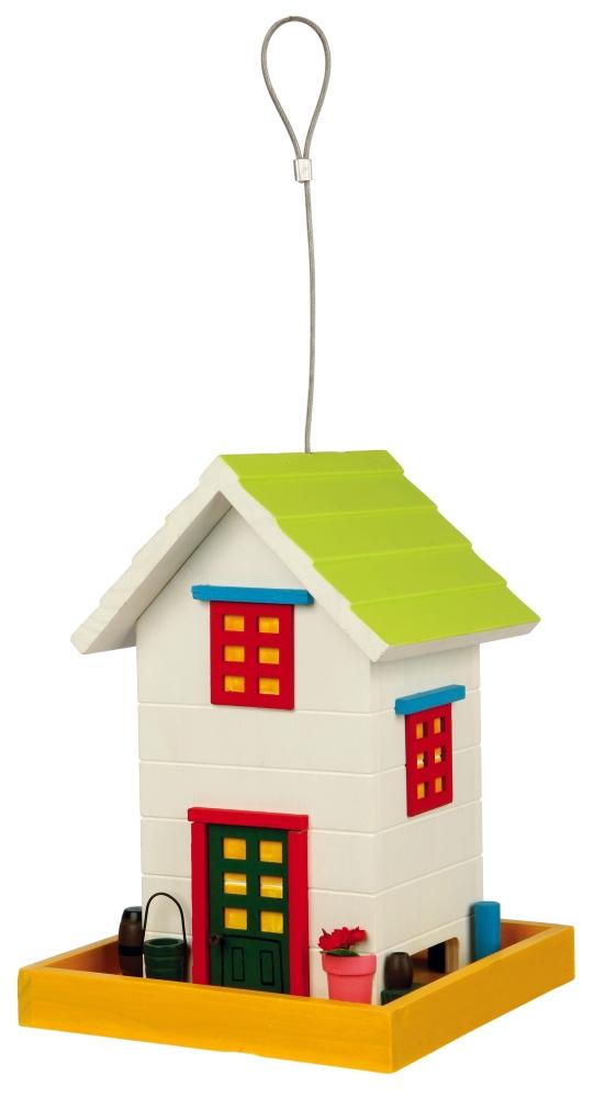 Trixie Voederhuis Home om op te hangen, hout Veelkleurig 18×24×18 cm met korting aantrekkelijk en goedkoop kopen
