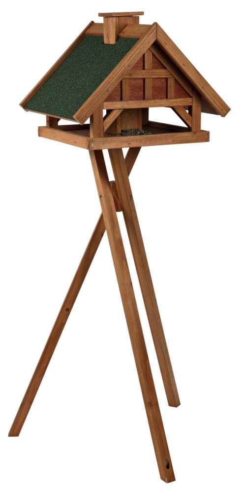 Natura Bird Feeder with Stand, Brown-Green 54×40×48 cm  from Trixie