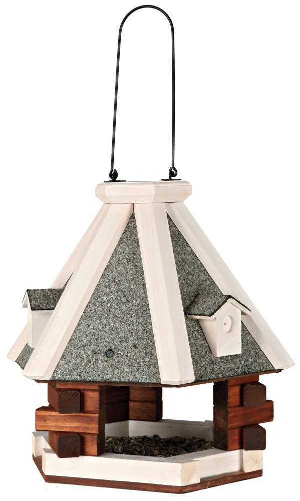 Natura Hanging Bird Feeder, brown/white 36×35  cm  from Trixie