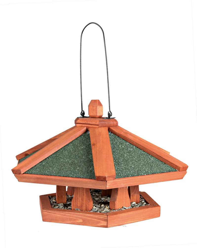 Trixie Natura Hanging Bird Feeder Light brown 42×24  cm