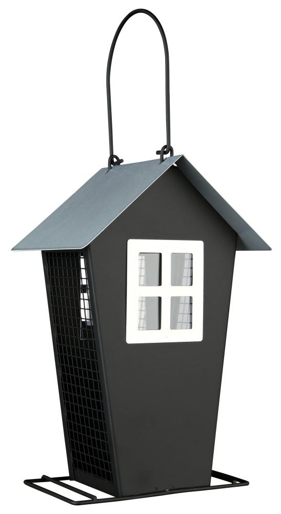 Comedouro de Metal para Pássaros Preto 14×21×8 cm da Trixie Compre a bom preço com desconto