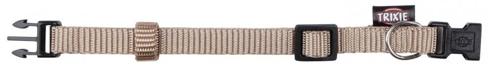 Trixie Halsband Premium Beige M-L