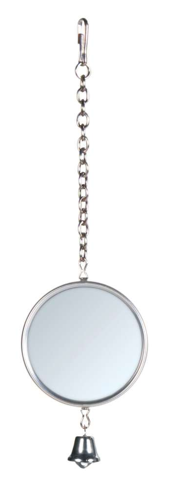 Trixie Mirror with Metal Frame Silver 5 cm