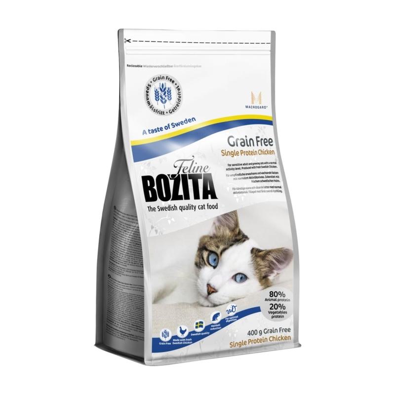 Bozita Grain Free Single Protein Chicken 7311030307100 kokemuksia