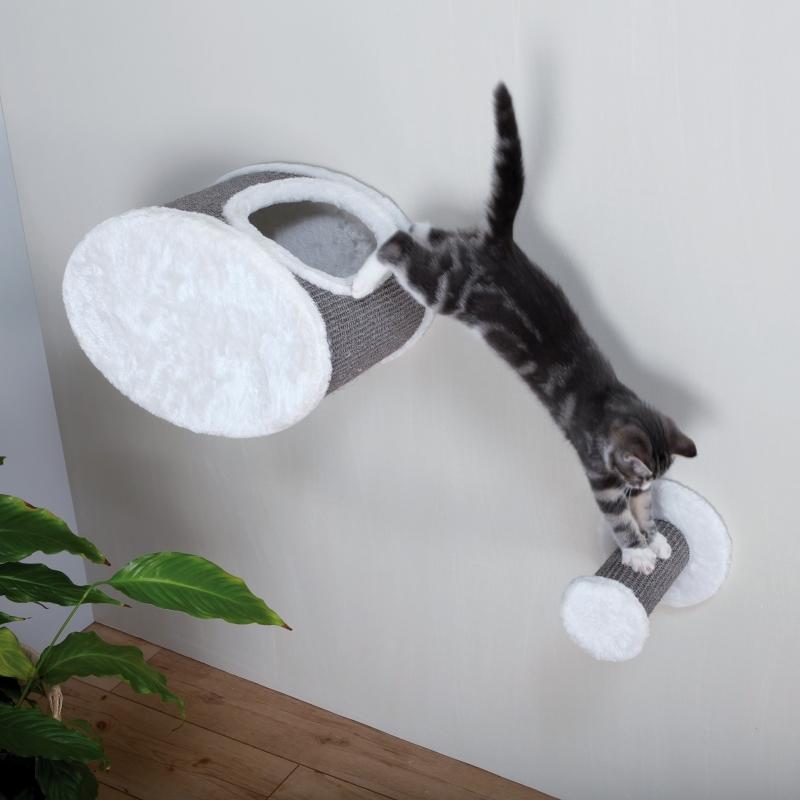 Trixie Tronchetto, da Fissare al Muro  Bianco 18×22 cm