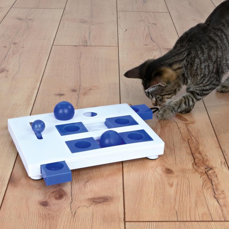 Trixie Cat Activity Brain Mover Strategiespiel  25×20 cm