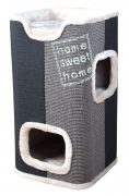 Jorge Cat Tower from Trixie Dark gray