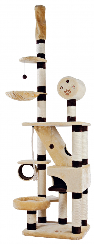 Trixie Krabpaal Belorado, plafondhoogte 70×60×246-280 cm 4011905446813