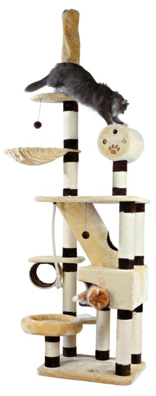 Trixie Krabpaal Belorado, plafondhoogte  Beige 70×60×246-280 cm