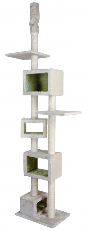Trixie Tamaso Scratching Post, floor to ceiling 57×40×240-260 cm 4047974446577 erfaringer