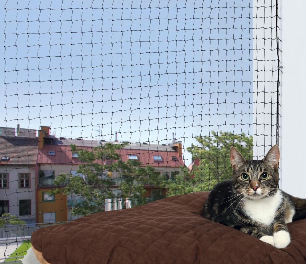 Trixie Protective Net  Svart 6x3 m