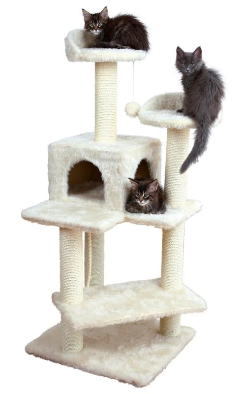 trixie arbre chat simona lait arbres chat de taille moyenne. Black Bedroom Furniture Sets. Home Design Ideas
