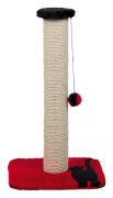 Mendi Scratching Post Red